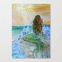 Final Joy Mermaid Canvas Print