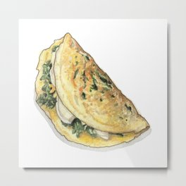 Breakfast & Brunch: Omelette Metal Print