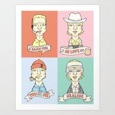 Wes' Owens Art Print