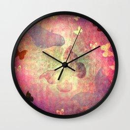 Flutter Dreams II Wall Clock