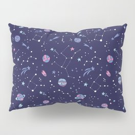 You're Outta this World in Purple Pillow Sham