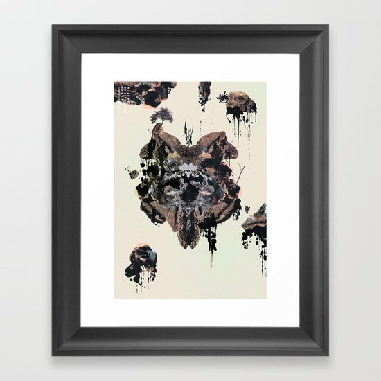 Impossible Gardens Framed Art Print