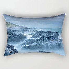 Rock On The Water Rectangular Pillow