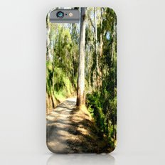 Along a forest Road iPhone 6s Slim Case