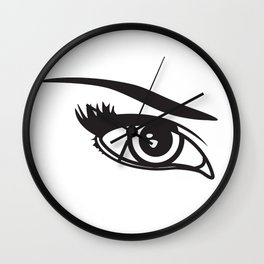 yeux Wall Clock