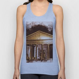 The Roman Pantheon Unisex Tank Top