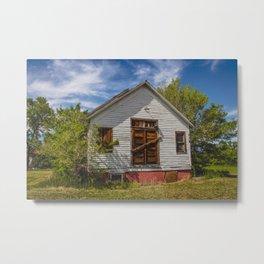 Abandoned Church, Zap, North Dakota 3 Metal Print