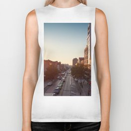 Harlem in the summer Biker Tank