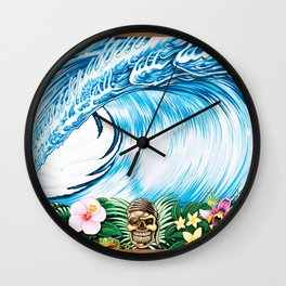 South Pacific Beast Wall Clock