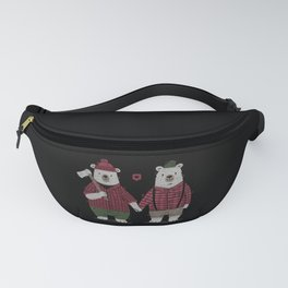 My Bear Valentine Fanny Pack