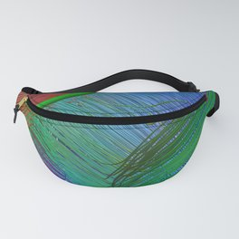 Brain fibers Fanny Pack