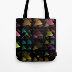 Drifting Triangles Tote Bag