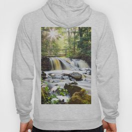 Upper Chapel Falls at Pictured Rocks National Lakeshore - Michigan Hoody