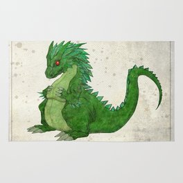 Fat Dragon Rug