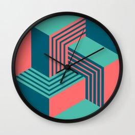 Blue knot Wall Clock