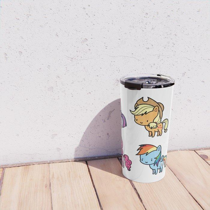 Mane6 chibi Travel Mug