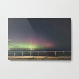 April Aurora Metal Print