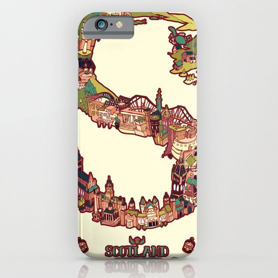S is for Scotland iPhone & iPod Case