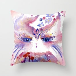 Zephyr Flowrider Throw Pillow