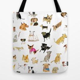 adopt a dog Tote Bag