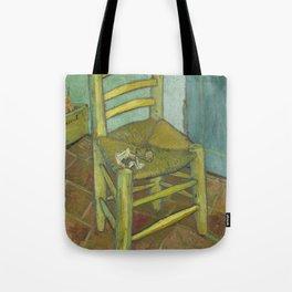 Van Gogh's Chair Tote Bag