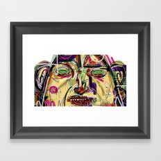 19 Framed Art Print