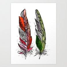 Beauty and Grace Art Print