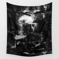 einstein Wall Tapestries featuring Albert Einstein by nicebleed