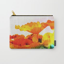 Enchanted Lotus Leaves Carry-All Pouch