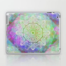 White Flower Mandala G406 Laptop & iPad Skin