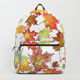 Autumn Maple Leaves Backpack