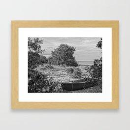 PaddleOut Framed Art Print