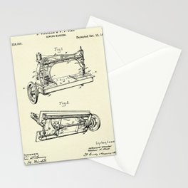 Sewing Machine-1885 Stationery Cards