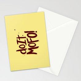 Do It Mofo Stationery Cards