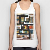 dancing Tank Tops featuring DANCING by JANUARY FROST