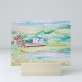 Farm Life Mini Art Print