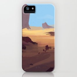 Does this look natural to you?  iPhone Case