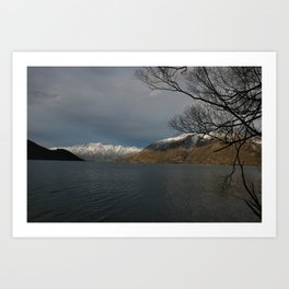 The Remarkables - 9 Mile Art Print