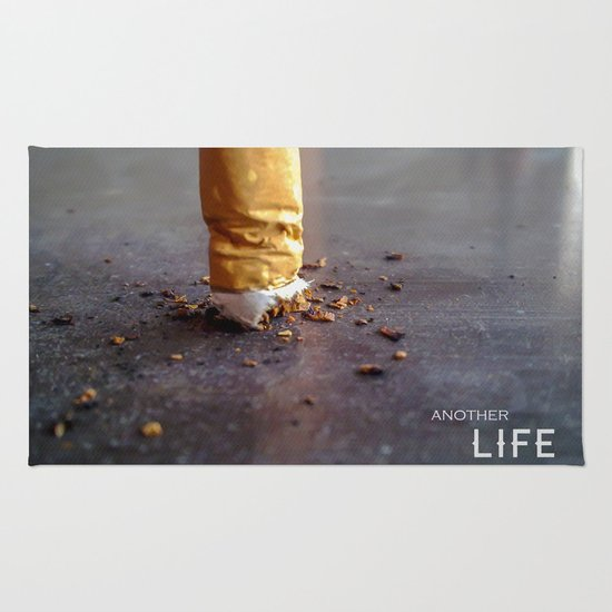 Smoking Kills Rug