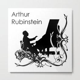 Arthur Rubinstein Metal Print