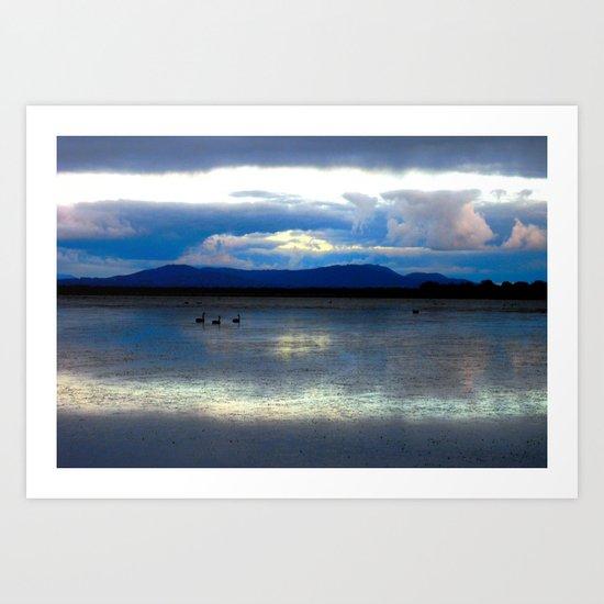Lakes Lonsdale Art Print