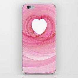 Valentine's Fractal I - Light iPhone Skin