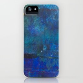 Trick or treat, deep blue! iPhone Case