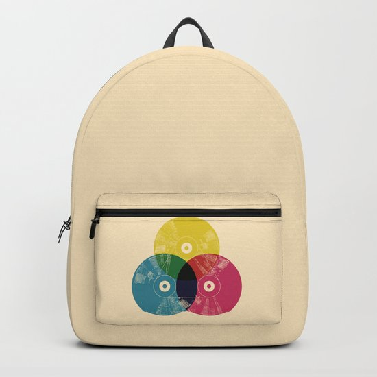 Music is the colors of life Backpack