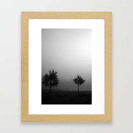 Fog Study 3 Framed Art Print