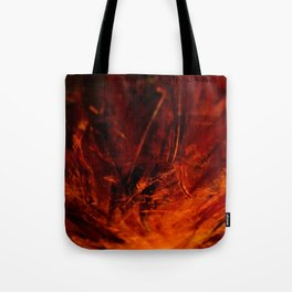 Zhislea | Zoom In 1 | Fiery, Intensive, Raw, Unfiltered Tote Bag