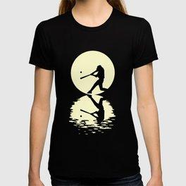 Moon Baseball Tee Shirt T-shirt