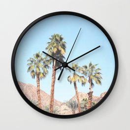 Palm Tree Desert Wall Clock
