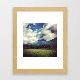 Hillside Framed Art Print
