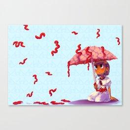 It's Raining Canvas Print